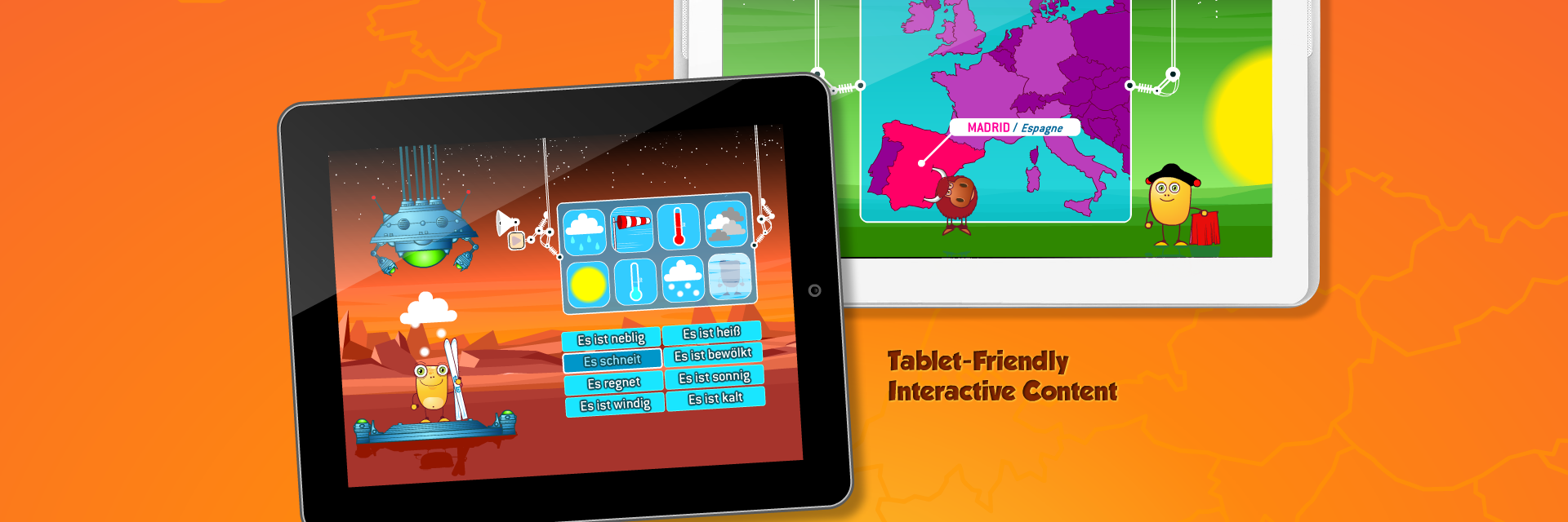 Tablet-Friendly Interactive Content