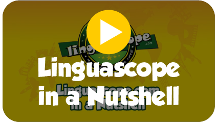 Click for video (Linguascope in a Nutshell)